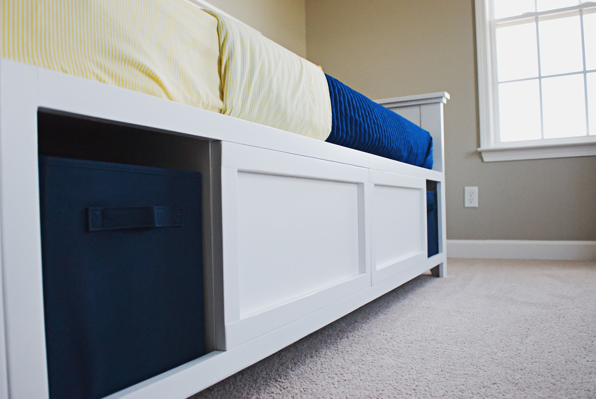 Ana White Hailey Storage Daybed Diy Projects
