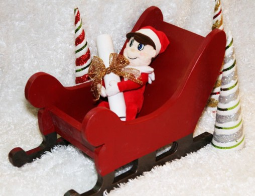 Ana White   Wood Sleigh   DIY Projects Wood Sleigh