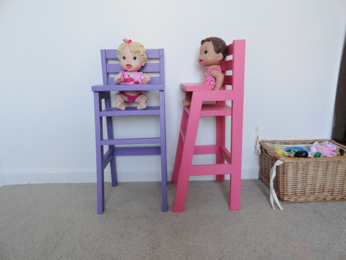 Ana White Doll High Chairs Diy Projects