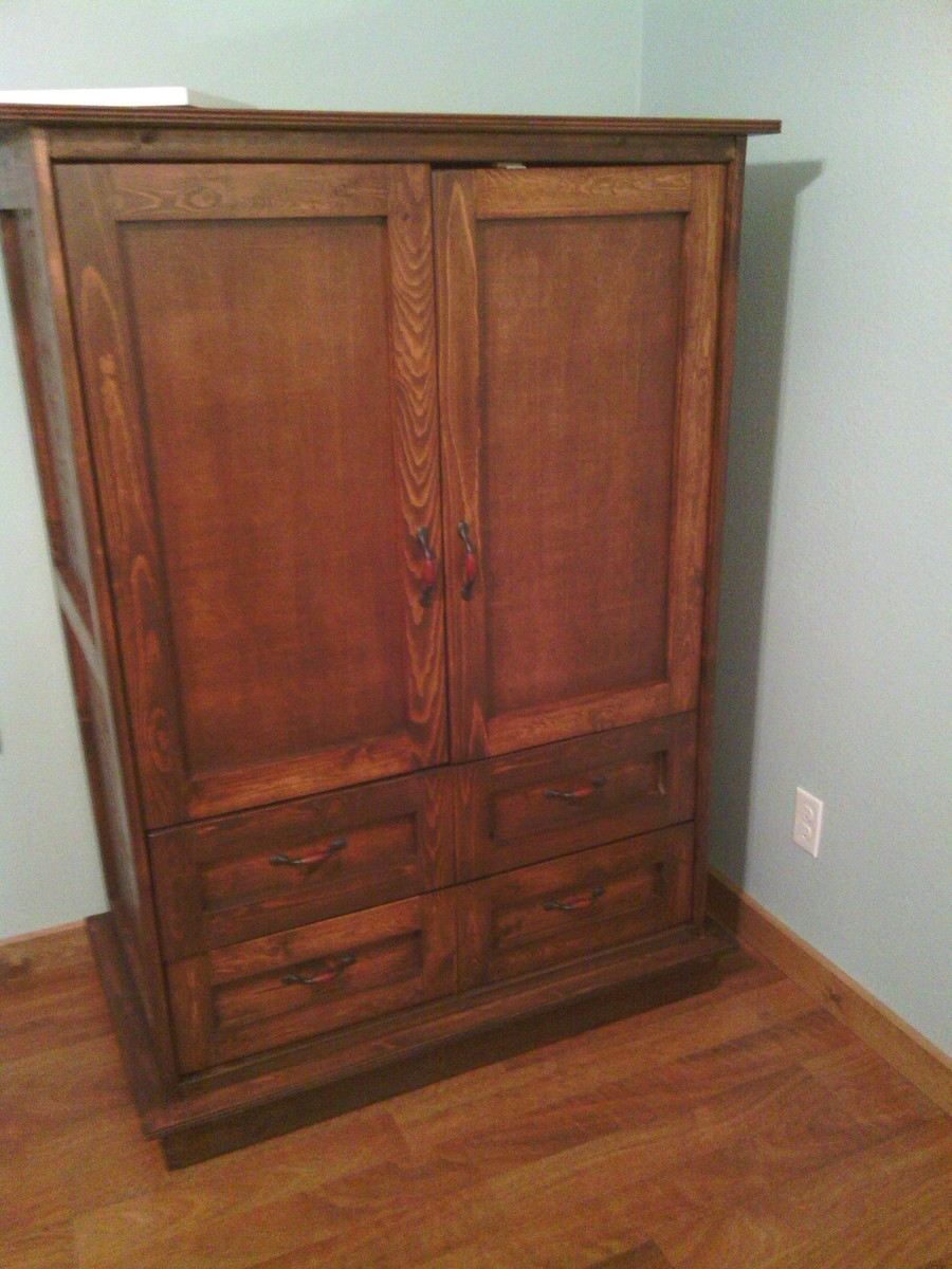 Ana White Armoire For Ella Diy Projects