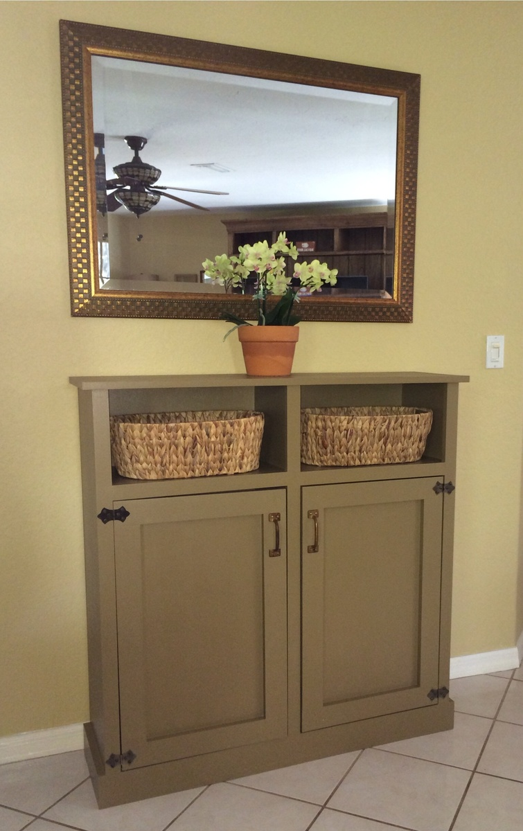 Ana White Shanty 2 Chic Cabinet Diy Projects