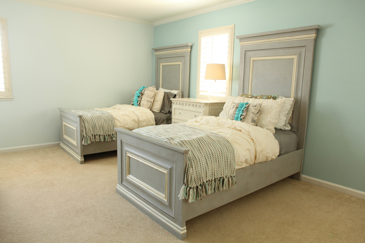 Ana White Twin Panel Bed Diy Projects