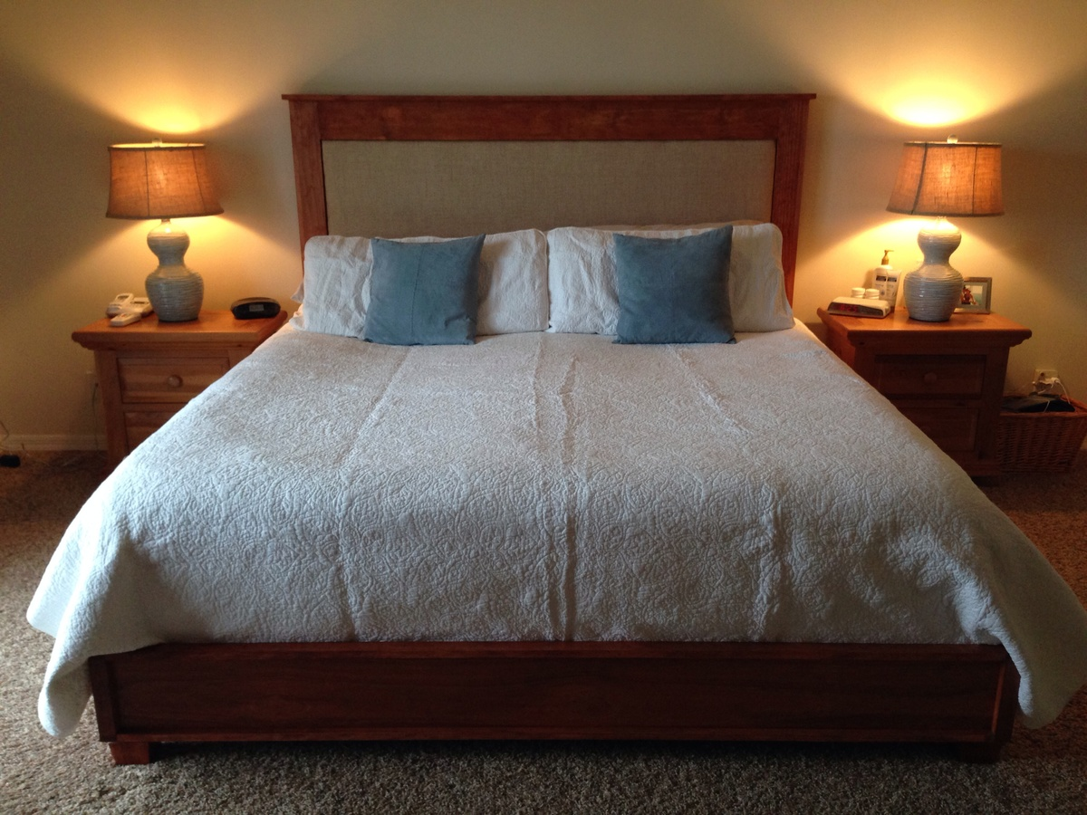 Ana White King Chestwick Headboard And Platform Bed