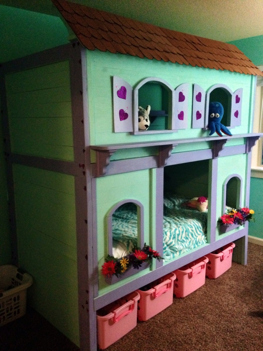 Ana White Sweet Pea Bunk Bed Diy Projects