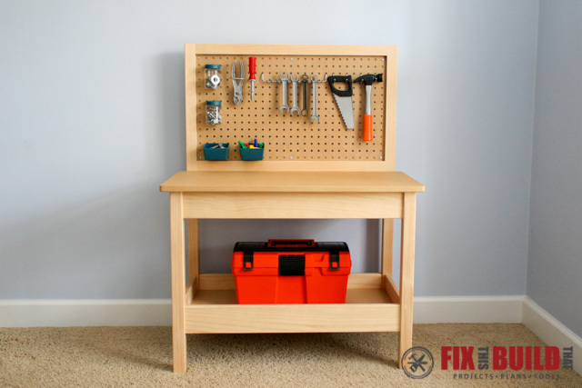 Ana White Kids Workbench Diy Projects