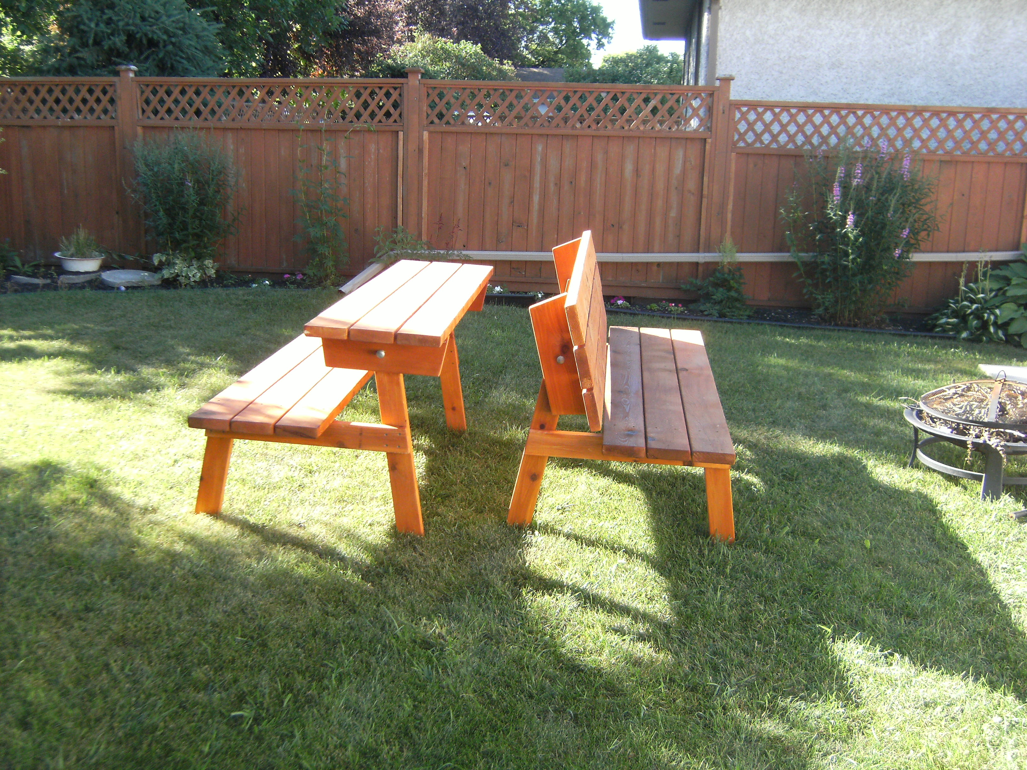 Convertible Picnic Table Ana White Woodworking Projects