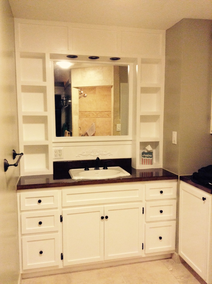 Ana White Vanity Built In Diy Projects