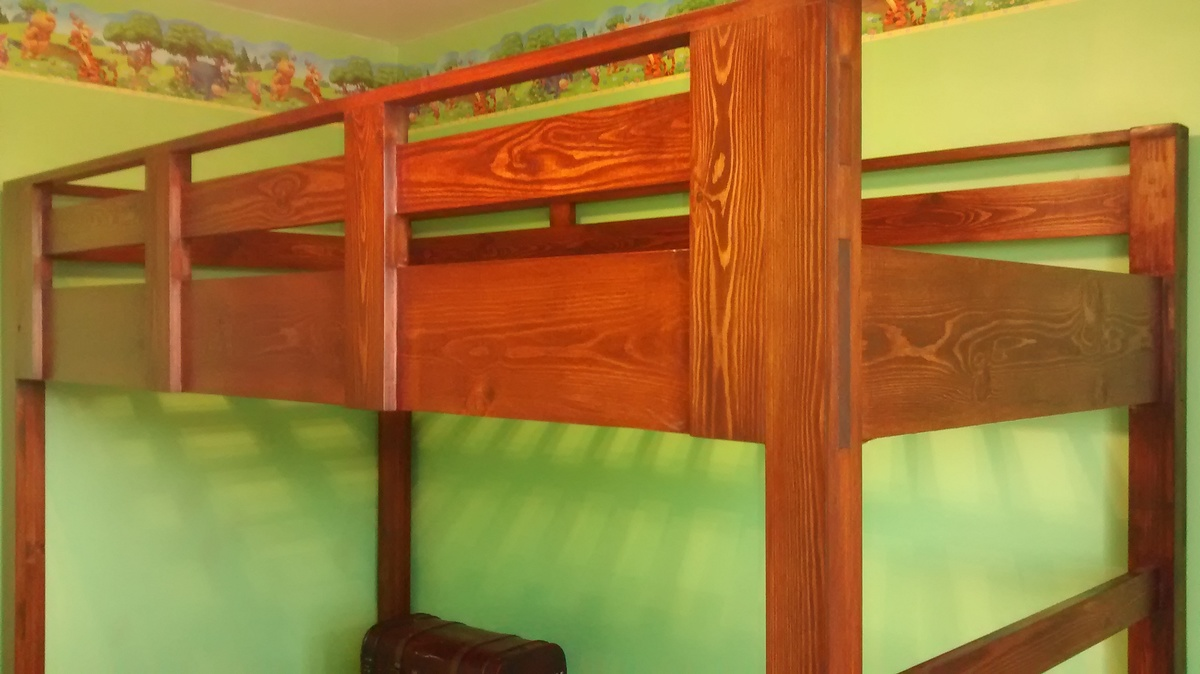 Ana White Loft Bed With Platform Diy Projects