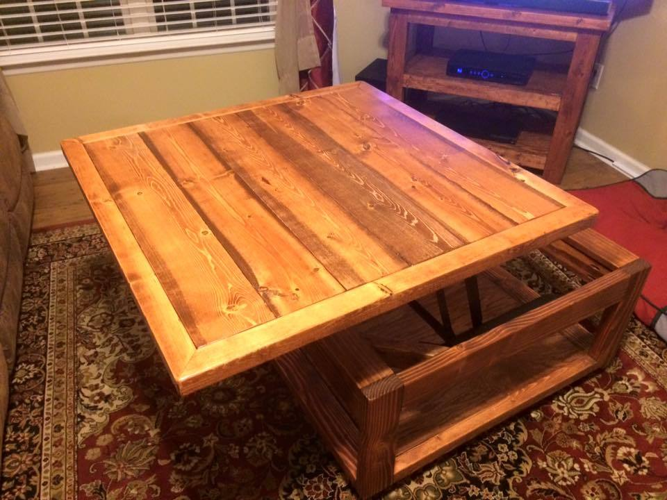 Ana White Lift Top Coffee Table Diy Projects