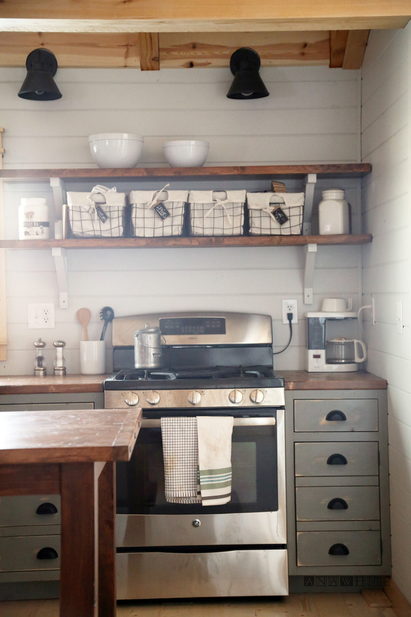 Best Kitchen Gallery: Ana White Diy Apothecary Style Kitchen Cabi S Diy Projects of Easy Kitchen Cabinet Blueprints on rachelxblog.com