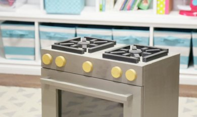 Wooden Toddler Stove | Wooden Thing
