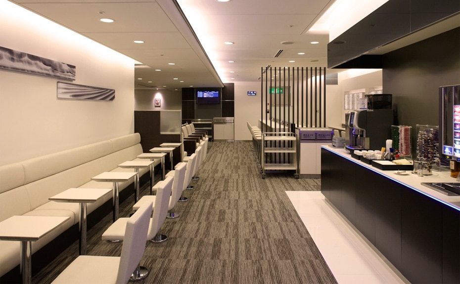 Ana Lounge At Kansai Airportlounge Domestic Service