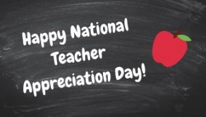 National Teacher Appreciation Day! | Anderson Jones