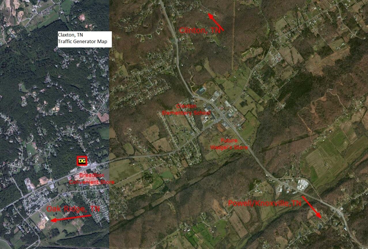 Map County Oak Ridge Tn