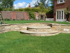 Andrew Spacie Landscape Garden Projects Split Level