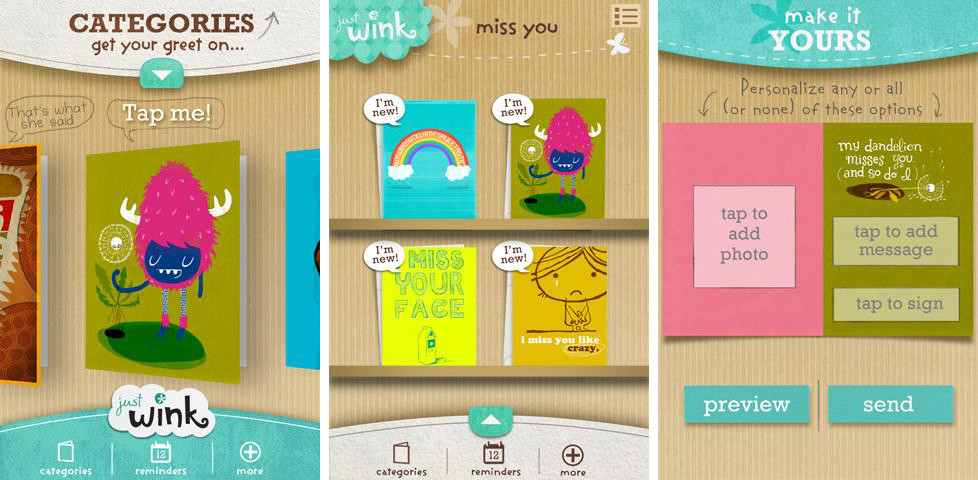 Best e card apps for Android   Android Authority justWink Greeting Cards
