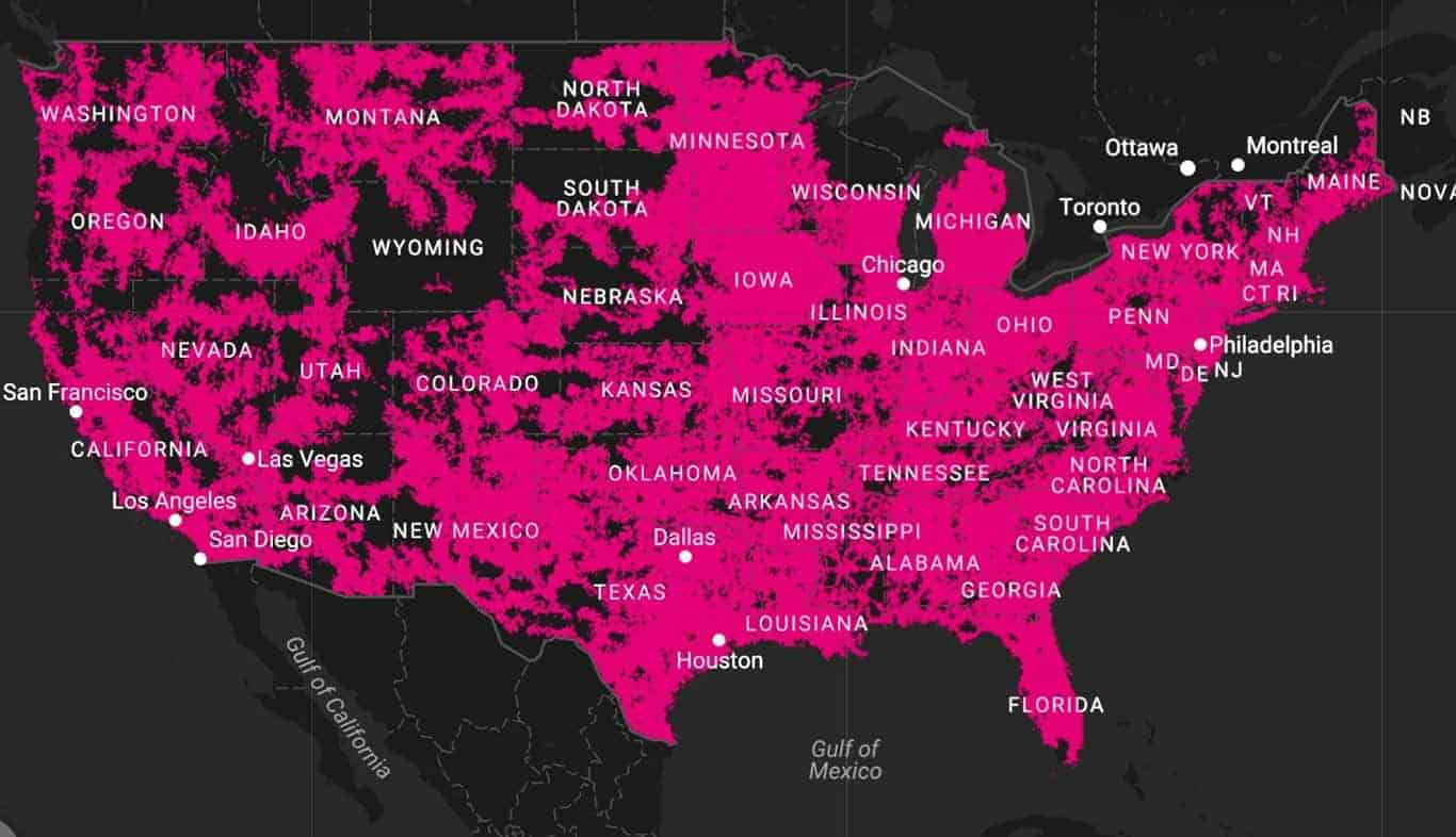 T Mobile Introduces LTE Coverage Comparison Map   Android News Given T Mobile s recent efforts  the standings on that list might change in  the near future