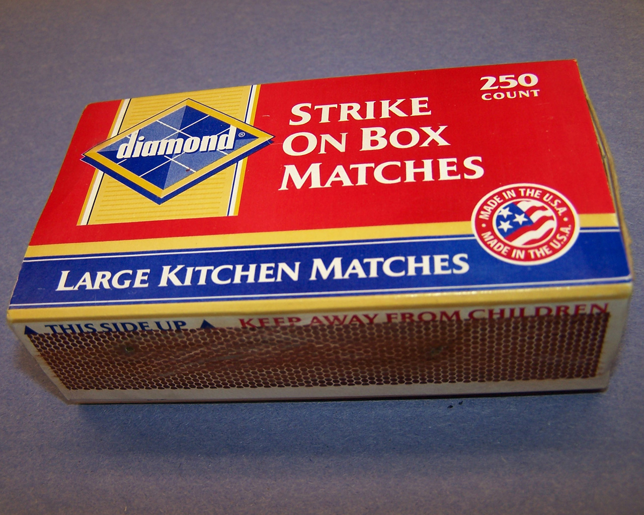 Matches Friction Are What