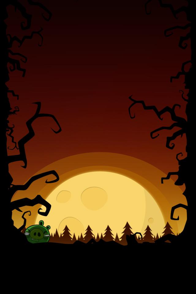 Angry Birds Halloween Iphone Amp Desktop Backgrounds