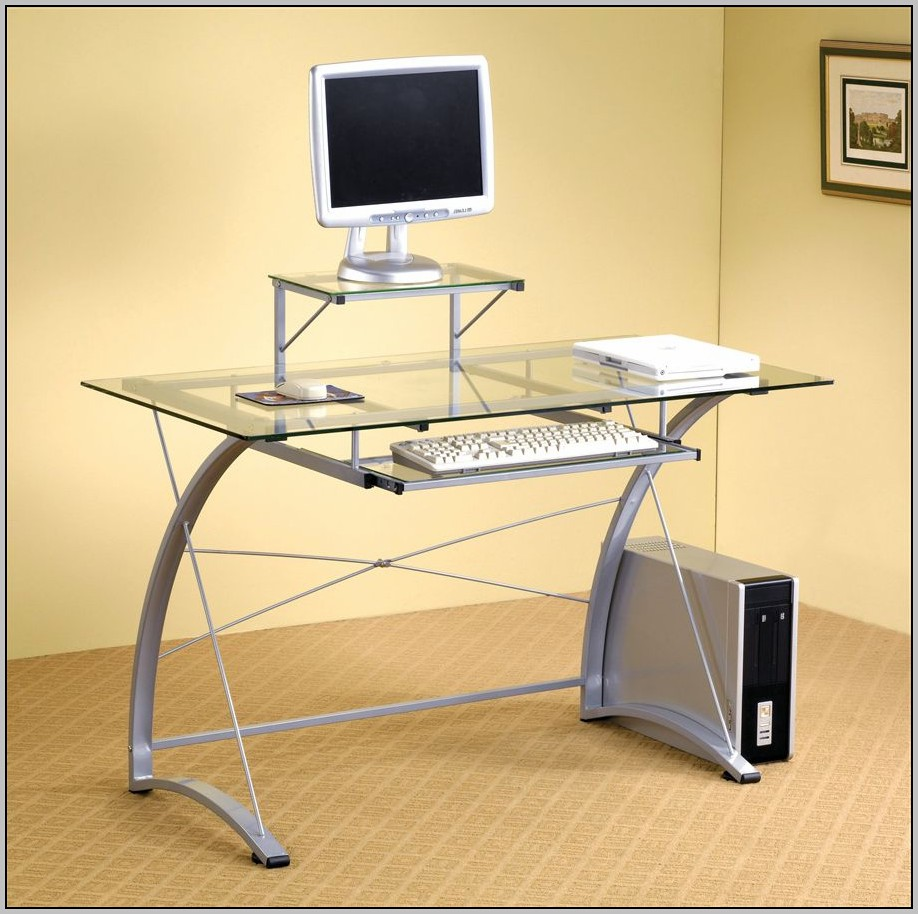 Glass Computer Desk Ikea Download Page Home Design Ideas