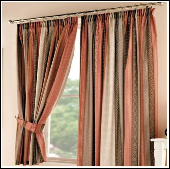 Brown Orange And Green Curtains Download Page Home