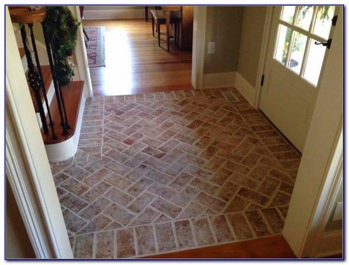 Brick Pavers For Interior Floors Flooring Home Design