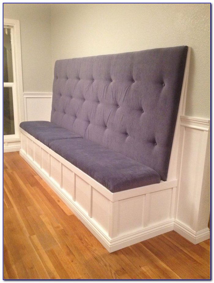 Diy Upholstered High Back Bench Bench Home Design