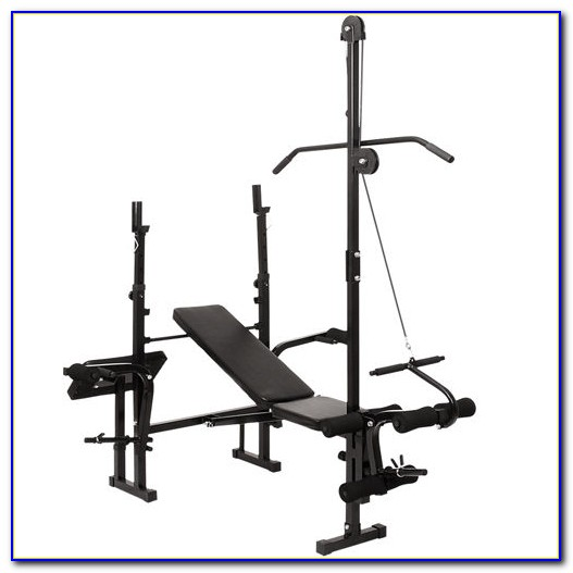 Weight Bench With Lat Pulldown Bench Home Design Ideas