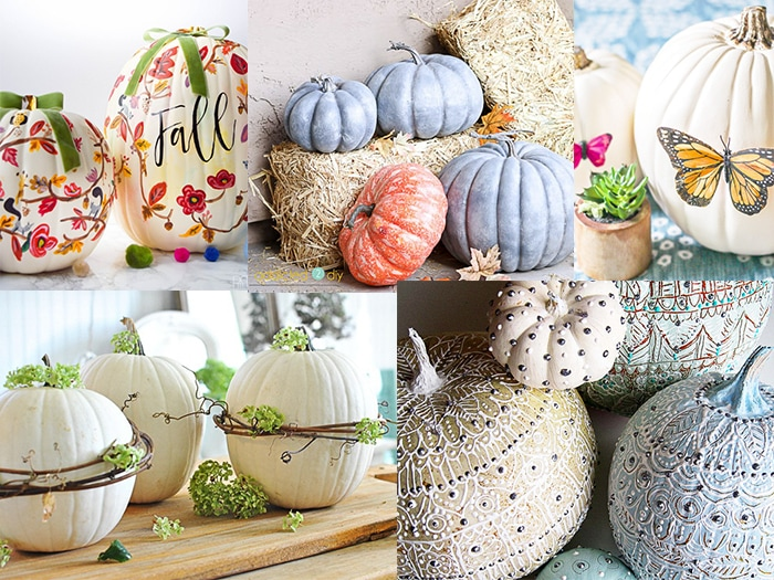 20 Cool Pumpkin Decorating Ideas for Fall   Anika s DIY Life These cool Pumpkin decorating ideas will spark your creativity  Don t just  carve it