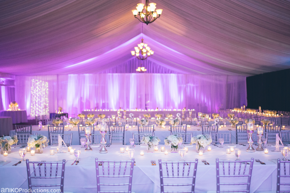 Purple Winter Wedding