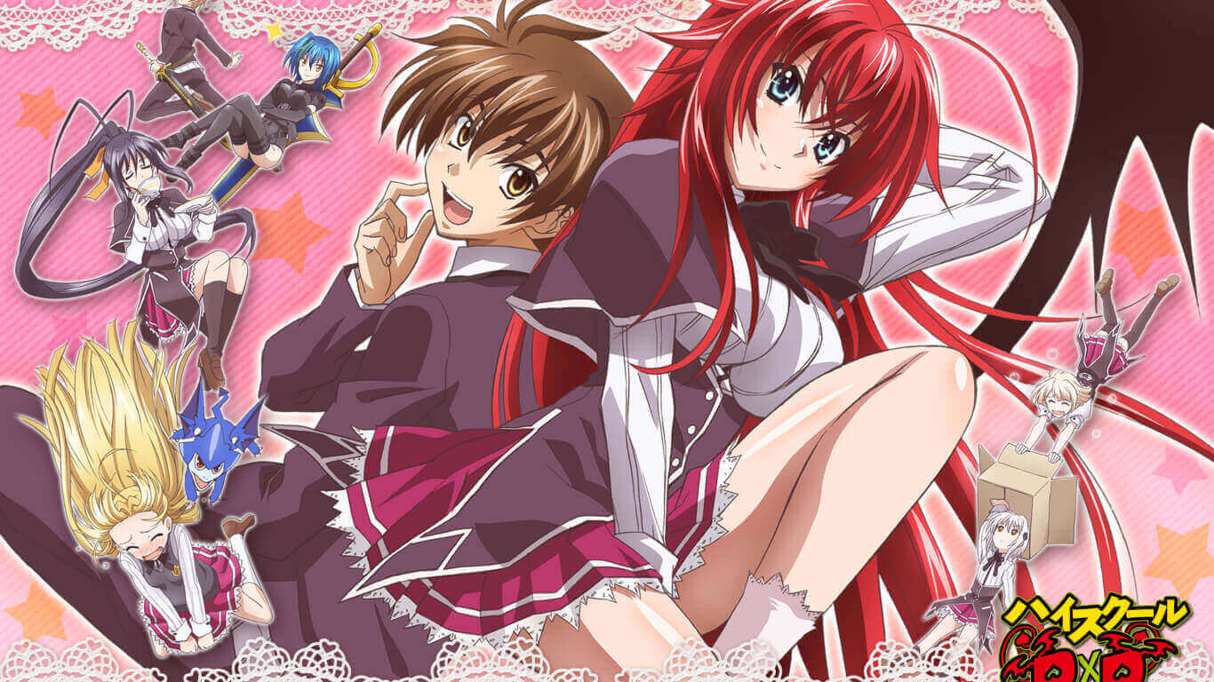 High School DxD S2 BD Subtitle Indonesia Batch