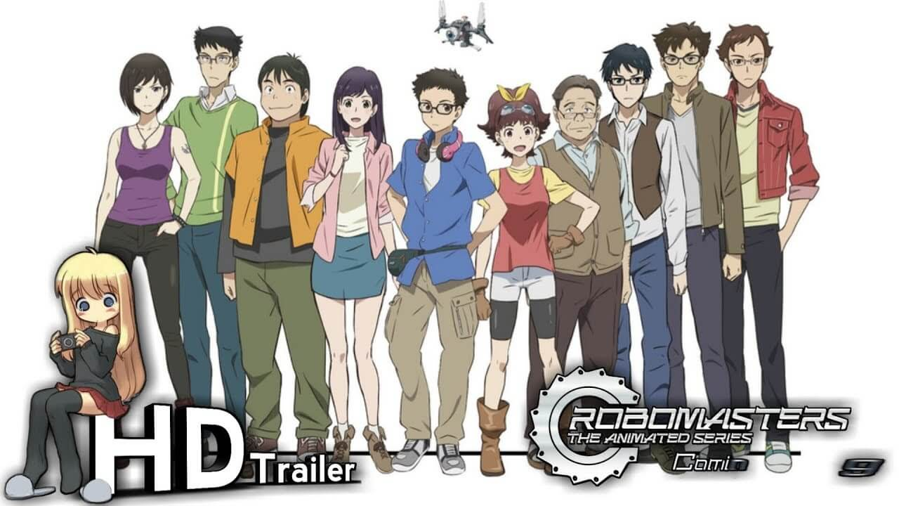 RoboMasters the Animated Series BD Subtitle Indonesia Batch