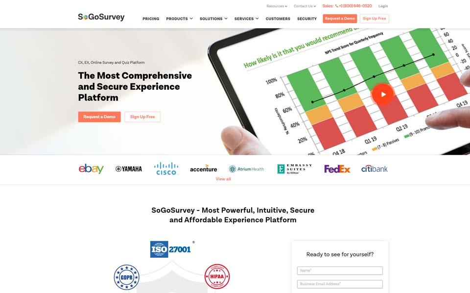 Professional online survey software tools, form builders ...