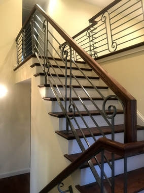 Annapolis Railings Stairs Annapolis Railings And Stairs Home | Outdoor Stair Railings Near Me | Porch Railings | Front Porch | Composite | Metal Stair | Stair Treads