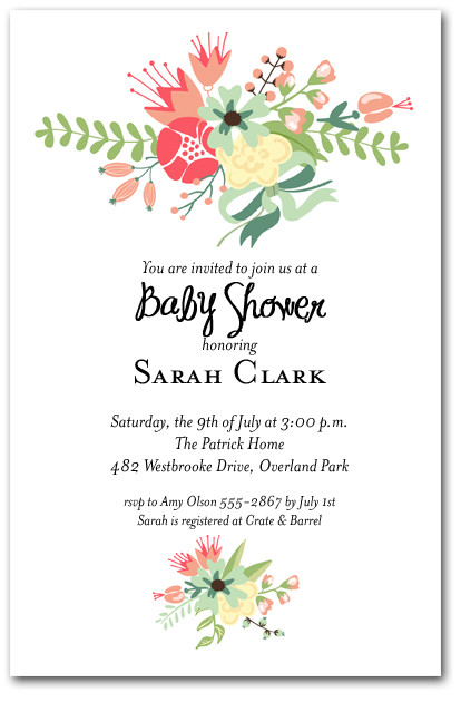 Fall Invitations Baby Shower