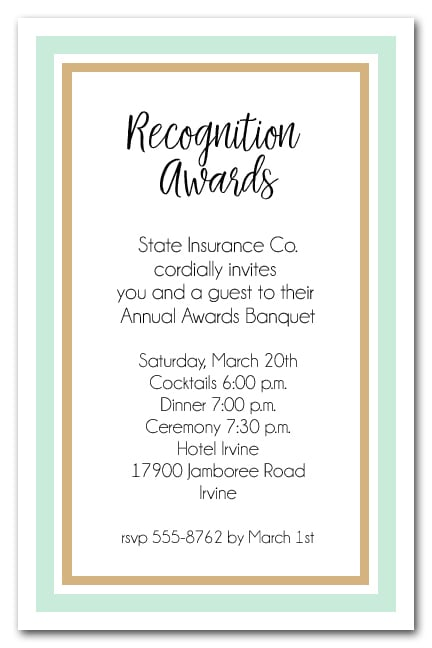 Business Recognition Awards