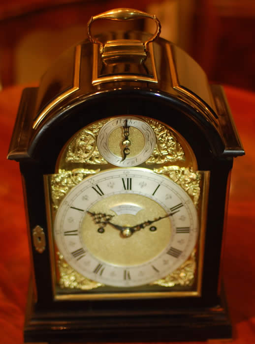 Jump Bracket Clock London Large Images