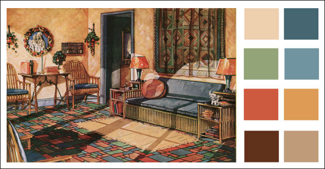 1920s Interior Paint Colors