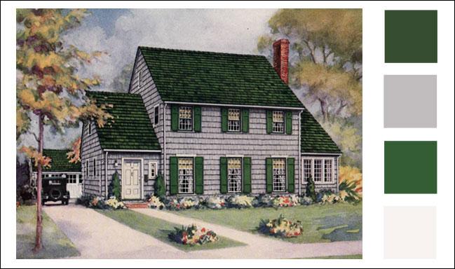 Weatherbest Color Schemes Vintage Paint Color Antique