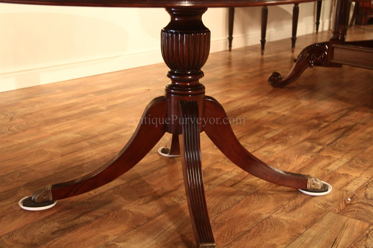 Round Dining Room Table Leaf