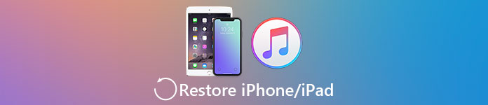 IPhone / iPad-ты iTunes-тен қалпына келтіріңіз