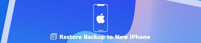 Ibalik ang backup sa isang bagong iPhone