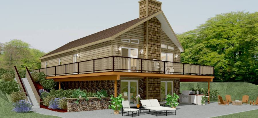 Chalet House Floor Plans   Apex Modular Homes of PA Chalet