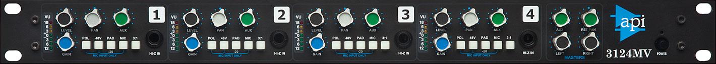 Api 3124mv Mic Pre W Mixer