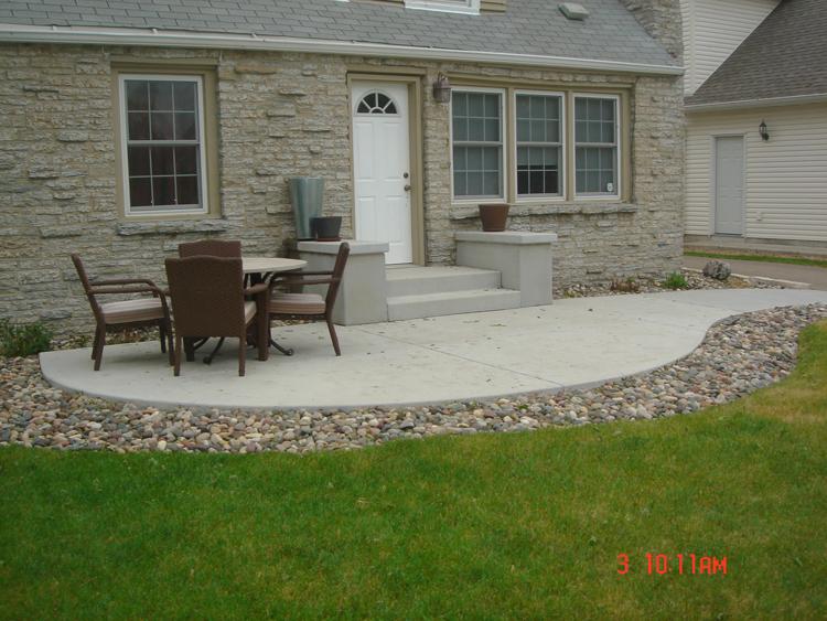 Concrete Patios A Pietig Concrete Amp Brick Paving