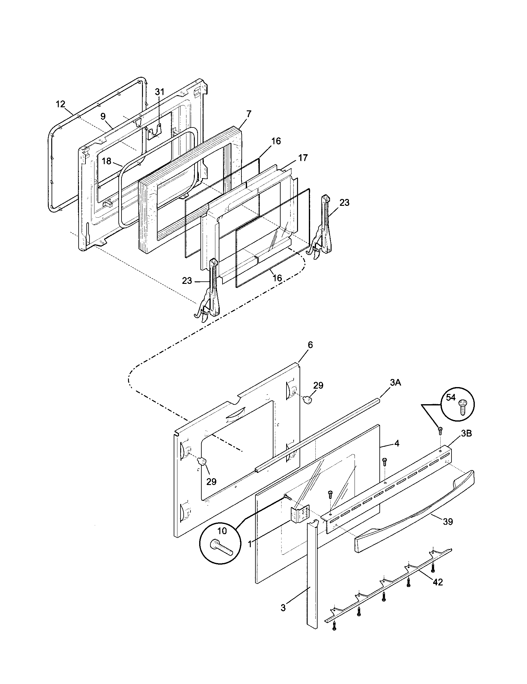 79046819992 elite dual fuel slide in range door parts diagram wiring parts diagram