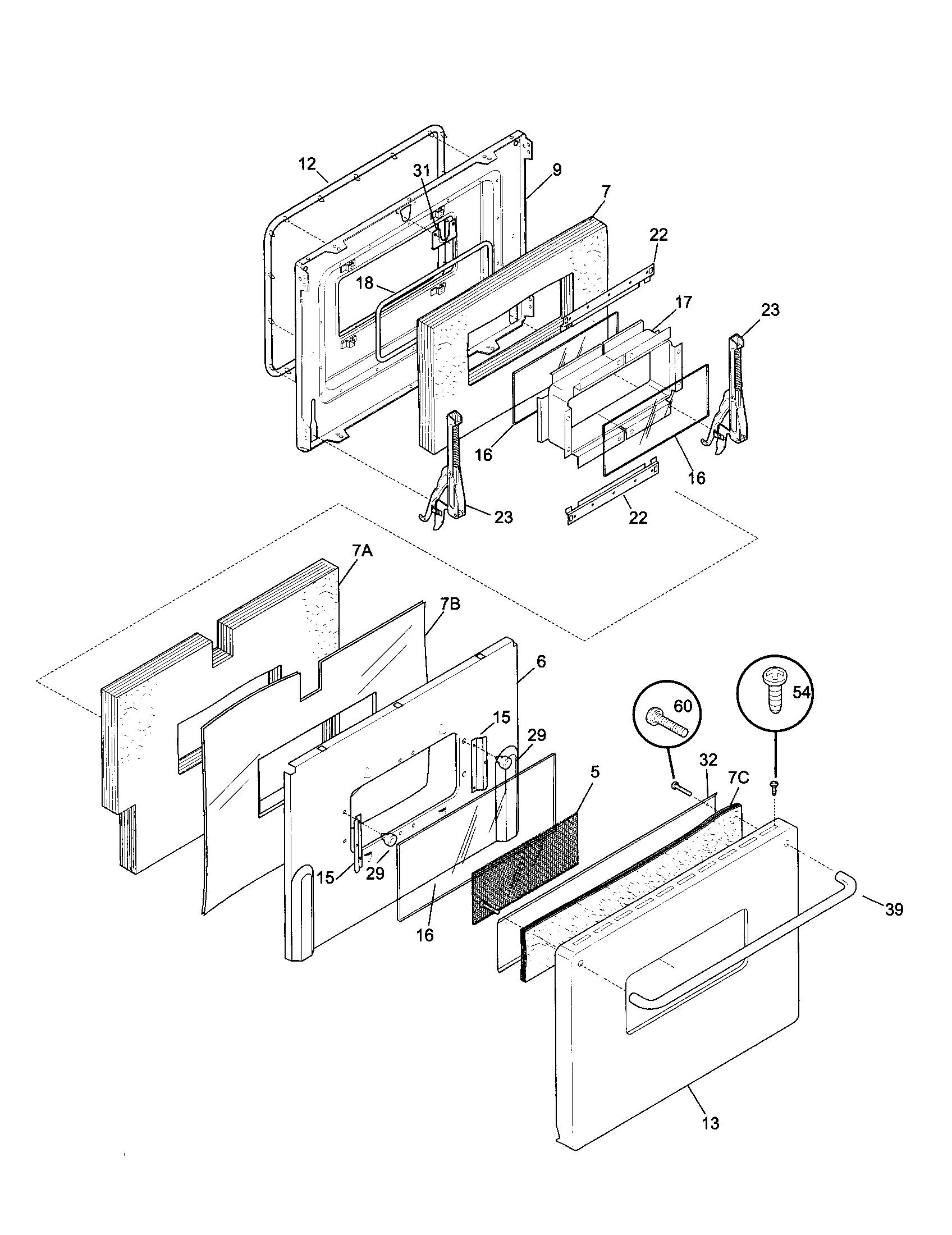 79074403995 dual fuel range door parts diagram wiring diagram parts diagram