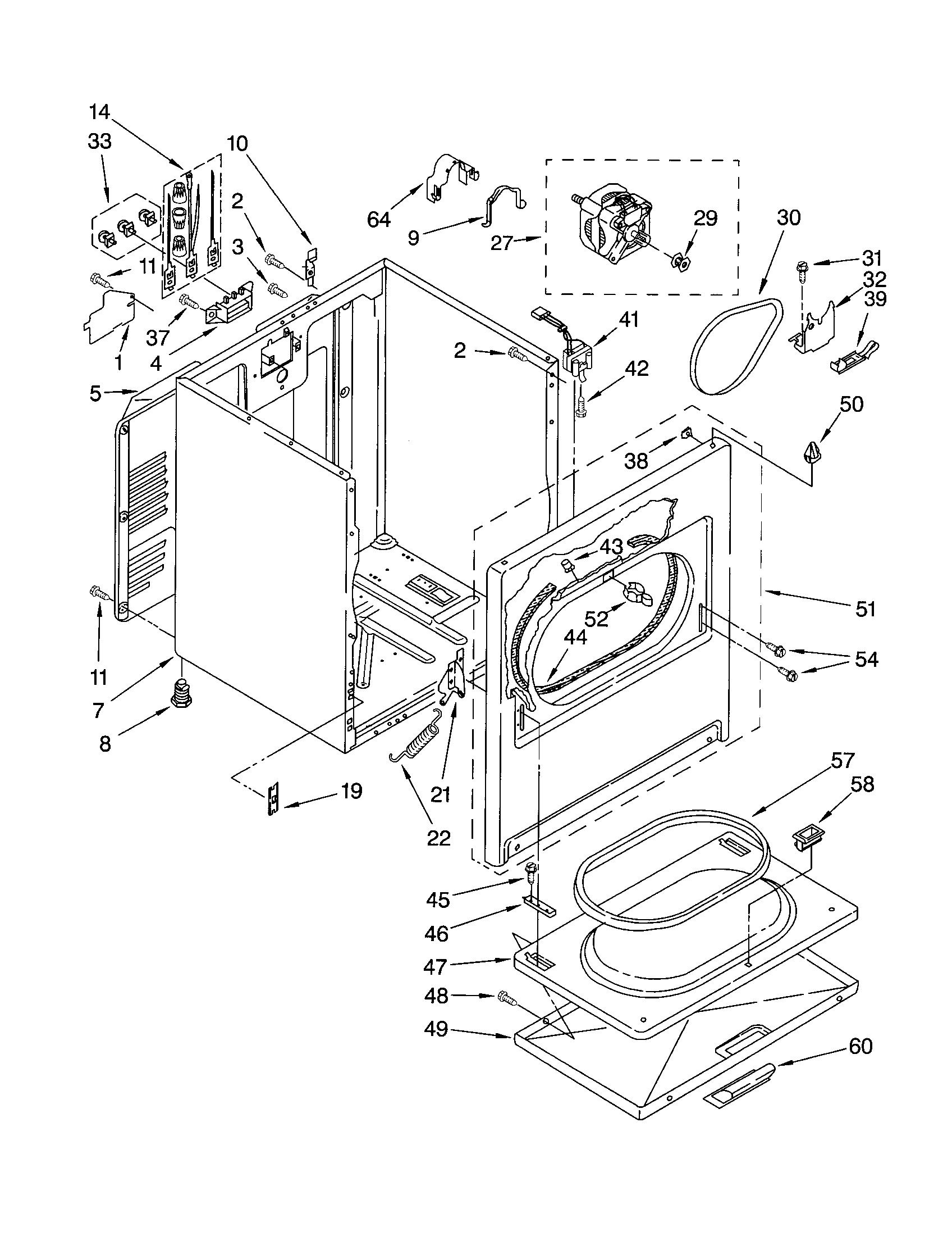 Famous kenmore dryer parts diagram kenmore dryer parts diagram 1696 x 2200 · 54 kb ·