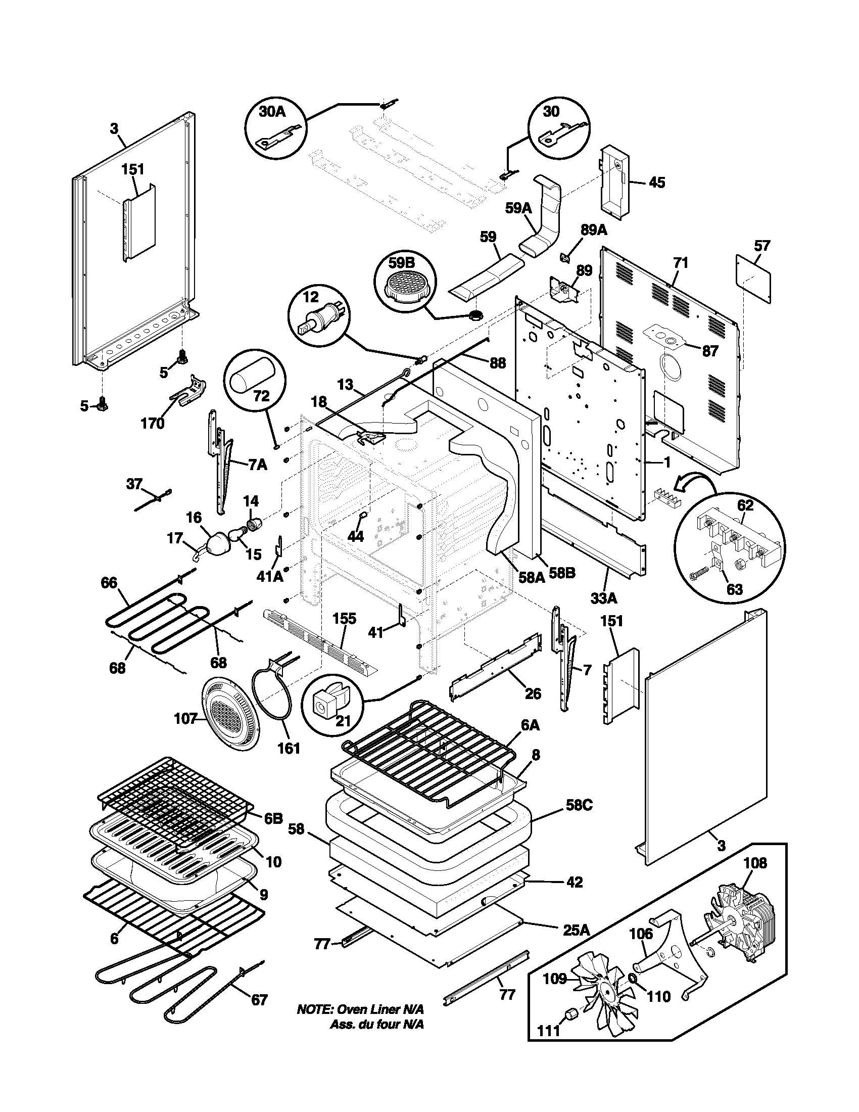 Frigidaire plef398aca electric range timer stove clocks and rh appliancetimers