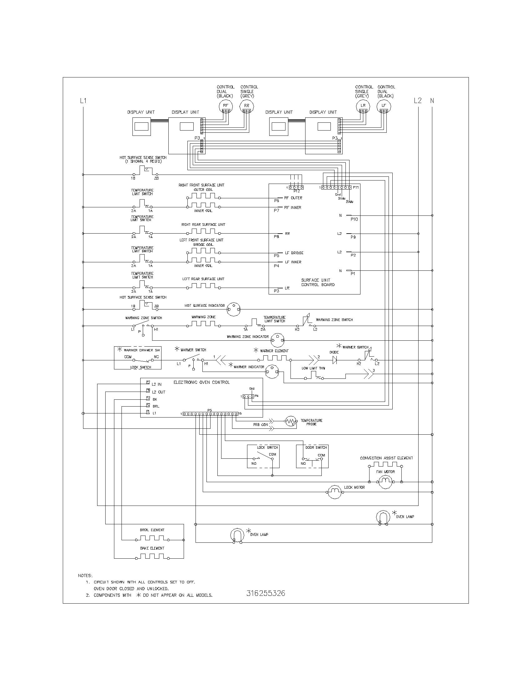 Frigidaire plef398ccd electric range timer stove clocks and rh appliancetimers